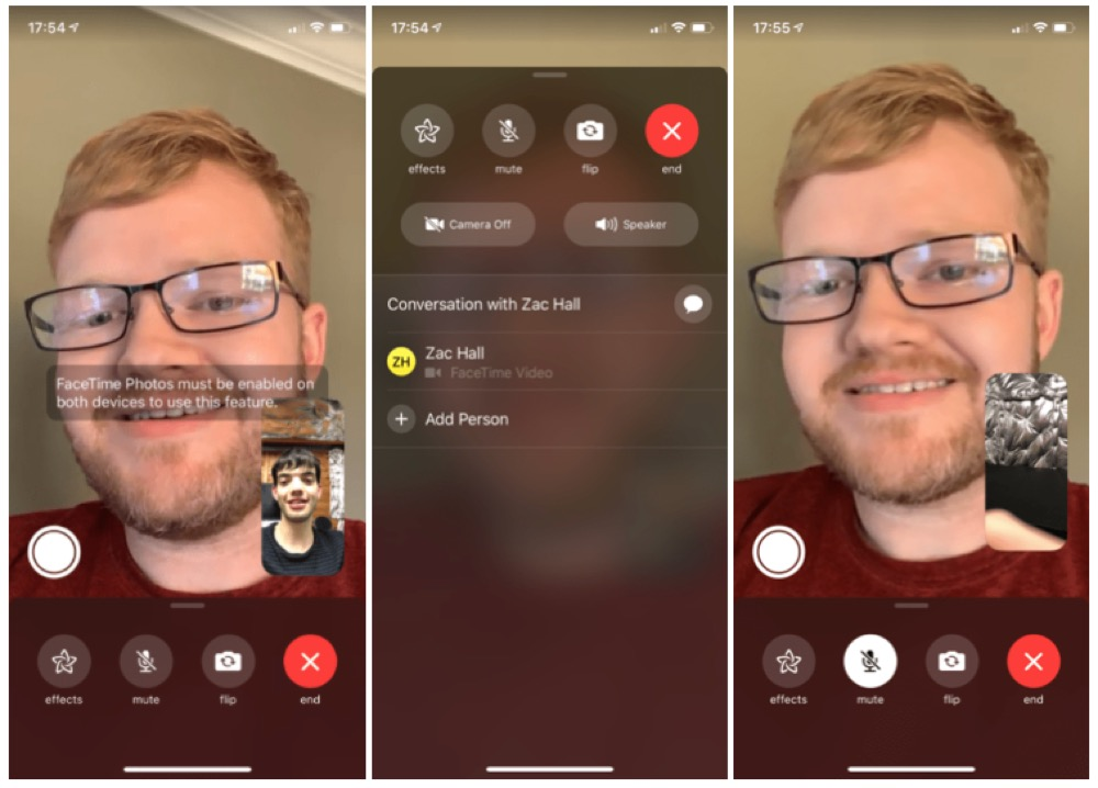 FaceTime iOS 12.1.1
