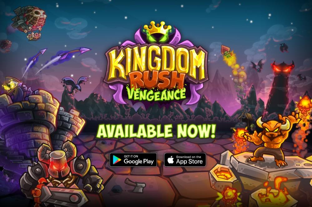 Kingdom Rush Vengeance Release Banner