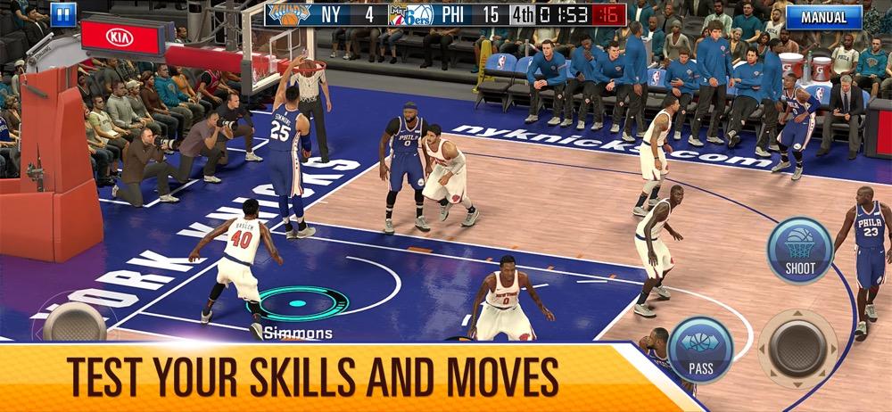 NBA 2K Mobile 1