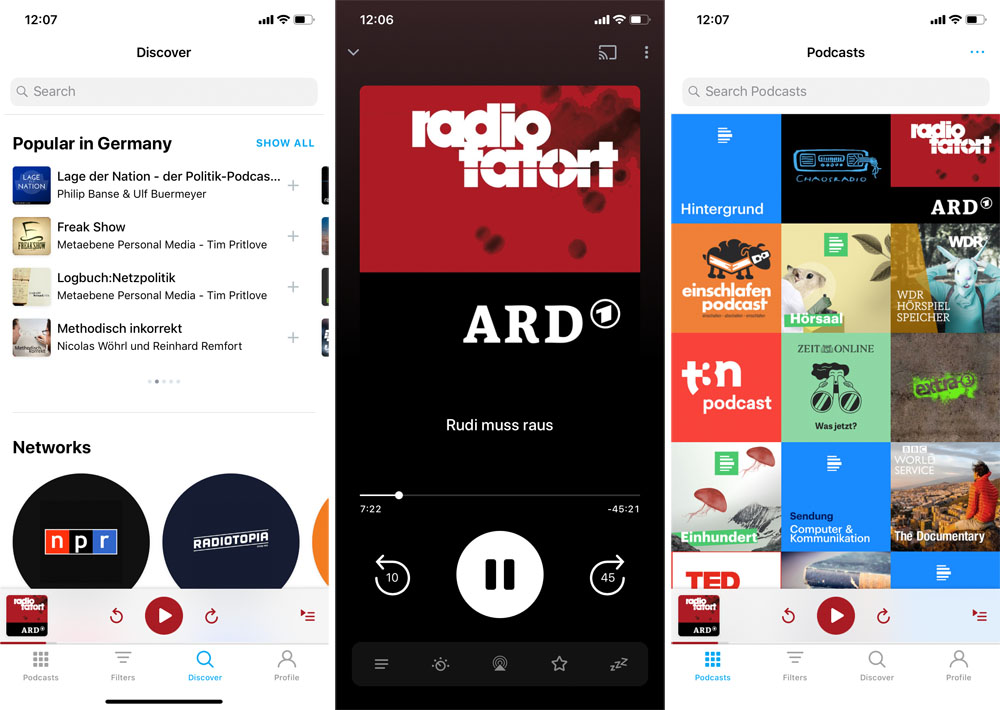 Pocket Casts 7