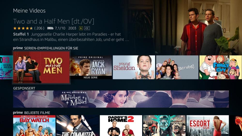 fire tv os serie