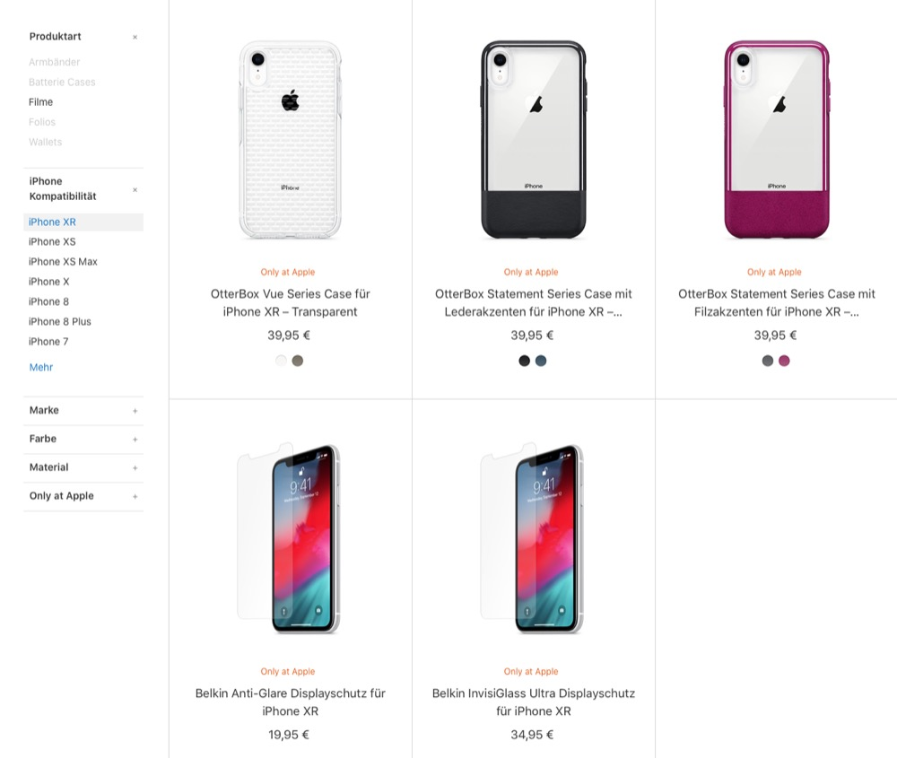 iPhone XR Apple Cases 2