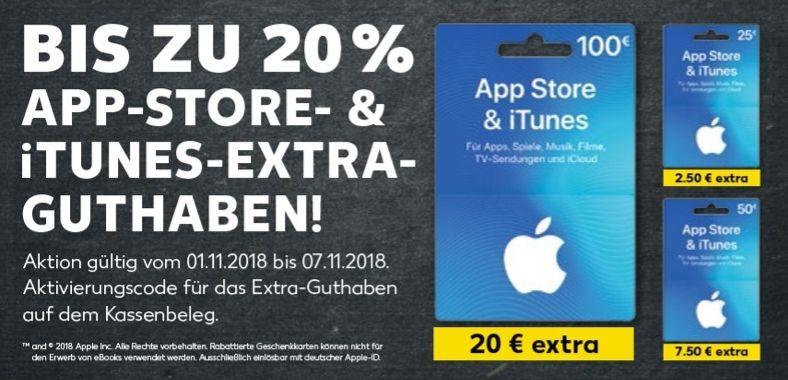 iTunes Bonus Kaufland