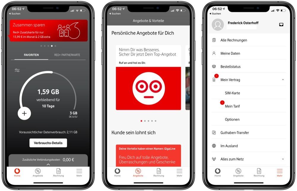 Mein Vodafone App Alte Version