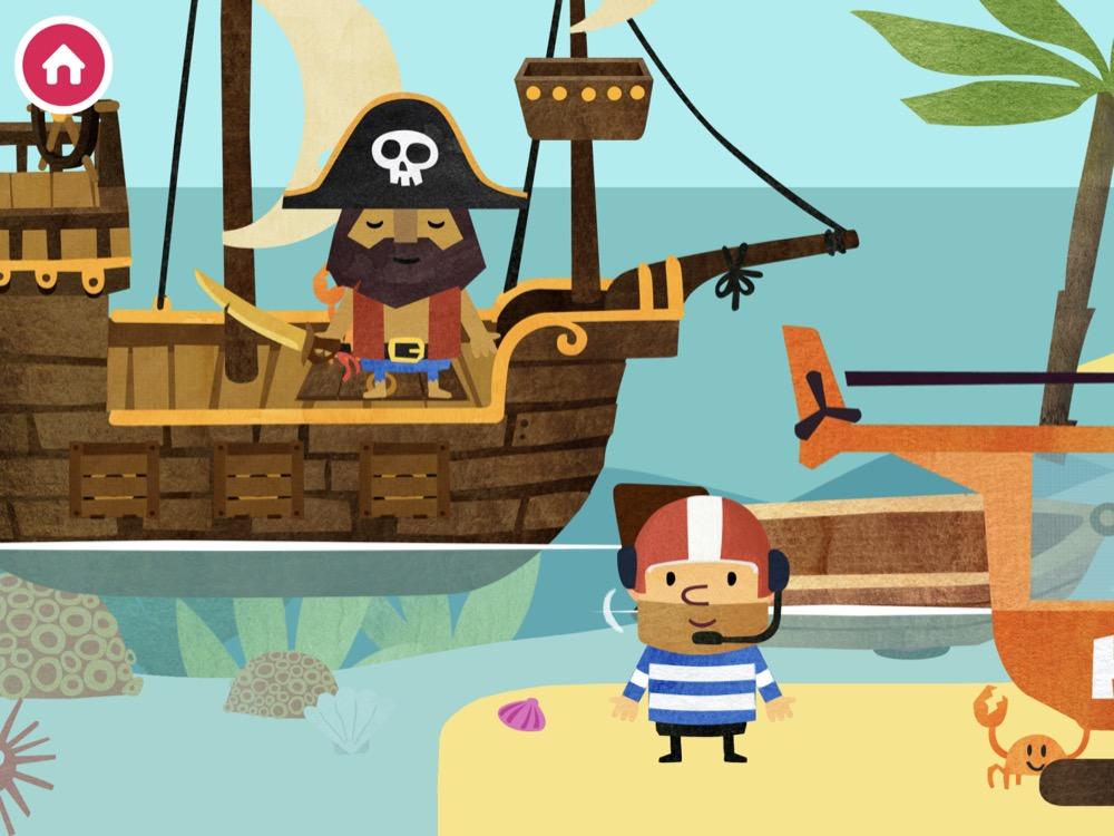 Fiete World als Pirat verkleidet