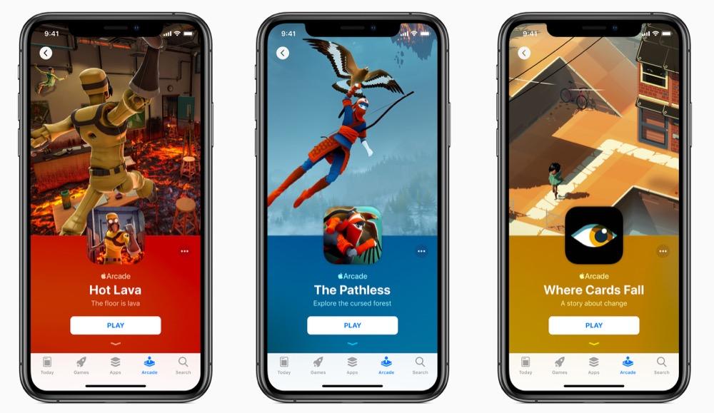 Apple Arcade auf dem iPhone