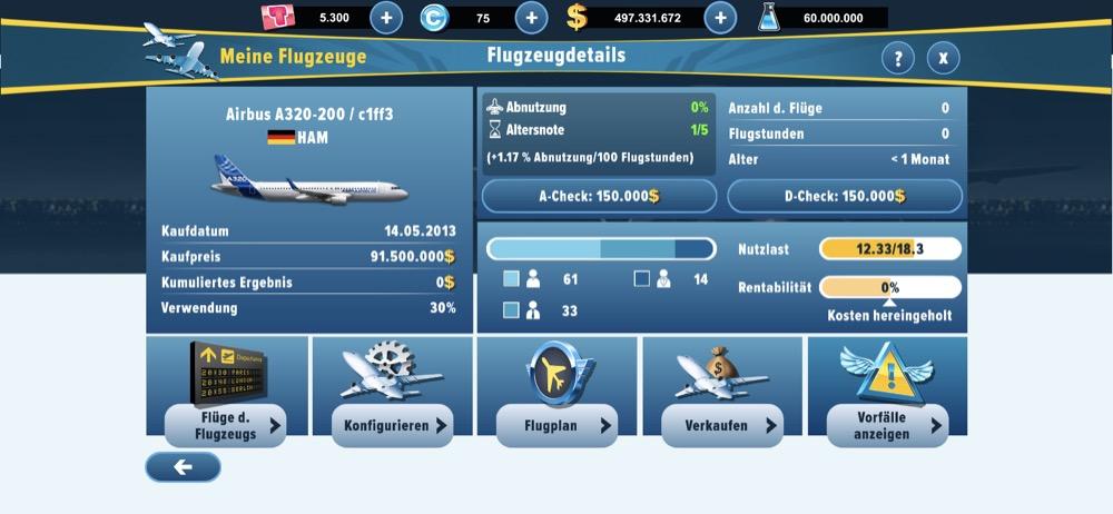 Airlines Manager Tycoon 2019: Update auf v3 0 mit neuer optischer