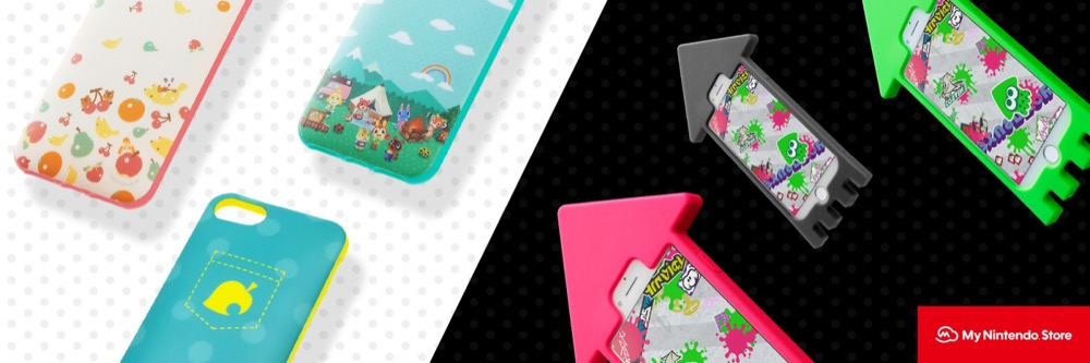 Nintendo iPhone-Hüllen mit Animal Crossing und Spltoon 2 Design