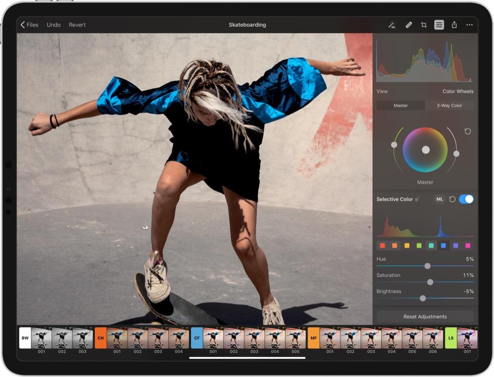 iPad-App Pixelmator Photo