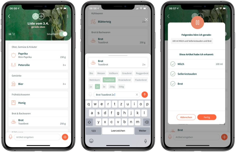 Chefkoch SmartList iPhone-App