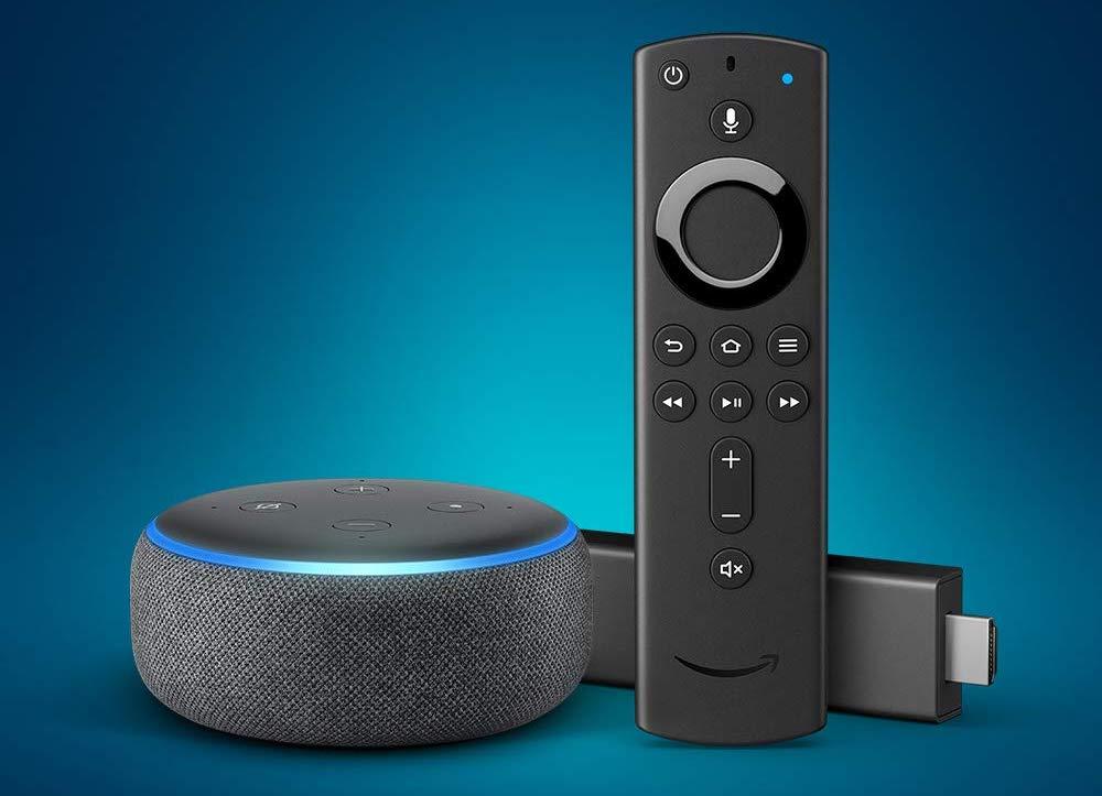 Echo Dot Fire Tv Steuern