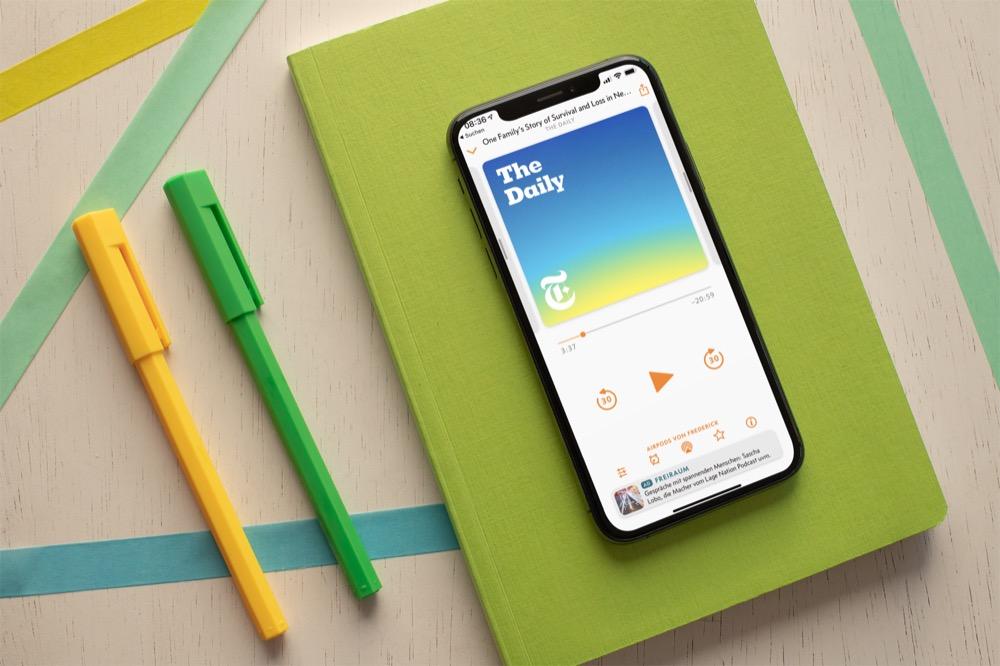 Overcast-App für iPhone