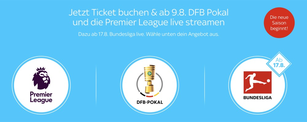Sky Ticket Dfb Pokal Einzelspiele