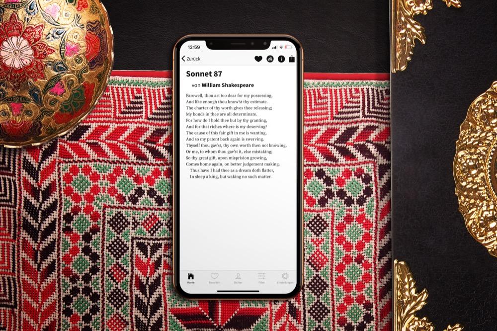 Poesi Lyrik App Bietet Jetzt Auch Zugriff Auf
