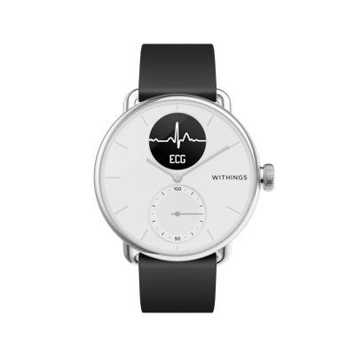 Withings ScanWatch: Hybrid-Smartwatch mit EKG und Schlafapnoe-Erkennung vorgestellt - appgefahren.de