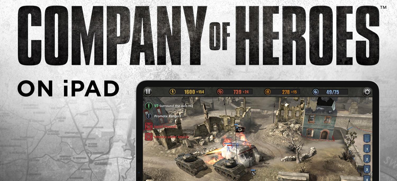 Company Of Heroes Startet Fur 14 99 Euro Auf Dem Ipad Appgefahren De