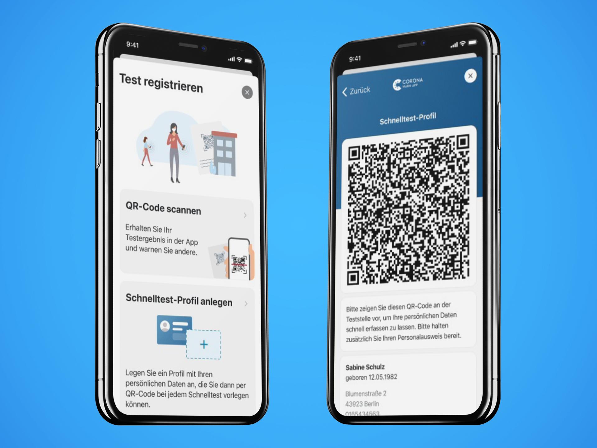 Corona-Warn-App: Schnelltest-Profile und Fehleranalyse-Protokolle  integriert - appgefahren.de